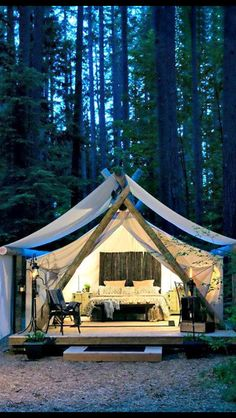 Glamping!! This is how I camp :p
