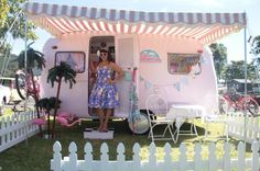 An inspirational interview with 'Vintage Caravan Style' author Lisa Mora | Cassiefairy's thrifty lifestyle blog