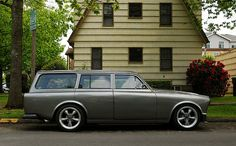 Volvo 122S Wagon, something about them appeals to me kinda like a vw bug.