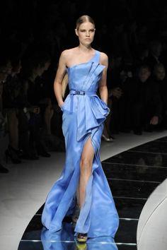 Blue lagoon dress / interesująca błękitna sukienka wieczorowa