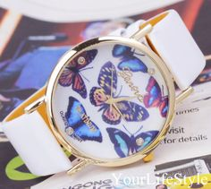 Monarch Butterfly Collection Watch,Women Watches from yourlifestyle by DaWanda.com