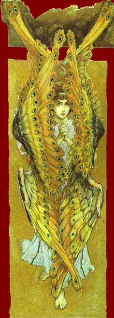 Rose Briar - Victor Vasnetsov ~ Seraphim  6 alas y muchos ojos!
