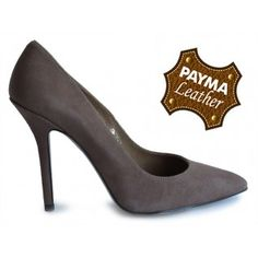 Stilleto ante marrón 49,90€ www.calzadospayma.com