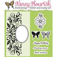 Grab your FREE Fancy Flourish embossing folder & stamp with Simply Cards & Papercraft 135 today!