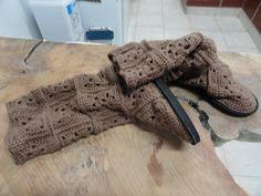 Manos de Patagonia: Botas a crochet
