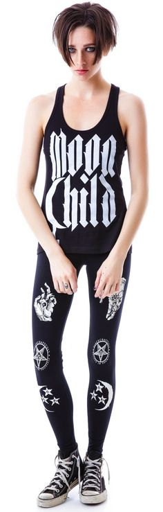 Blackcraft Moon Child Tank | Dolls Kill