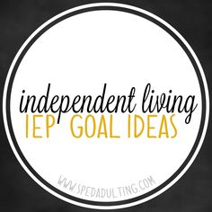 BLOG: Life Skills IEP goal ideas in the area of independent living for special education. Life Skills Classroom, Life Skills Activities, Teaching Life Skills, Teaching Ideas, Science Activities, Teaching Tools, Classroom Setup, Classroom Activities, Vocational Tasks