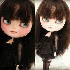 OOAK Custom ICY Doll Twigg BlytheLike Big Eyed by cindysowers