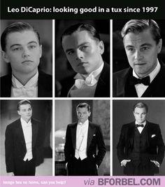 Leonardo DiCaprio Wears The Tux Well…