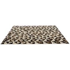 Modrest Palo by Linie Design Modern Cowhide Area Rug (€935) ❤ liked on Polyvore featuring home, rugs, carpet, floors, tappeti, cow skin rug, modern rugs, rectangular rugs, cowhide rug and rectangle rugs