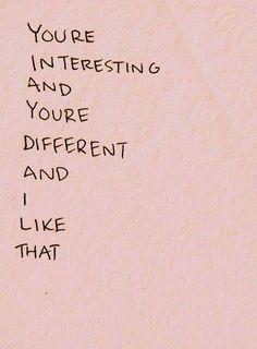 and i like that