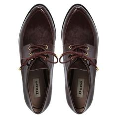 LIBERAL - Patent And Pony Material Lace Up Loafer   Flats/Ballerinas   Dune  http://www.dune.co.uk/liberal-patent-and-pony-material-lace-up-loafer-0076505410091591/