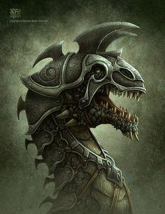 DRAGONS - IMPRESSIVE ILLUSTRATIONS BY KEREM BEYIT