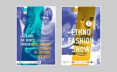 Franco-German Cultural Fund - Brand Identity by Graphéine, via Behance