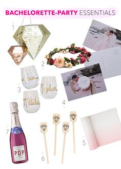 Wedding Planners can plan bachelorette parties too - here some things that you might want at the party