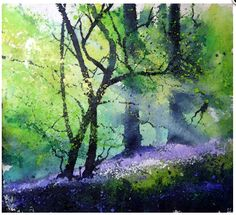 Pete Gilbert is an artist from the New Forest, Hampshire. Painting mainly landscapes of the New Forest or the Dorset Coast Watercolor Artists, Watercolor Landscape, Abstract Landscape, Landscape Paintings, Watercolor Paintings, Pastel Paintings, Indian Paintings, Abstract Paintings, Oil Paintings
