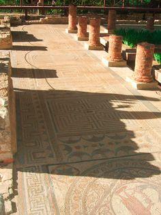 Velha cidade Romana. Old Roman town. #Conimbriga