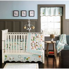 MiGi alphabet crib bedding from Wal-mart!  $180