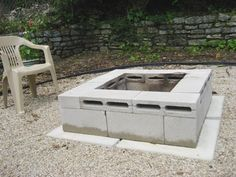 Budget Backyard: 10 Ways to Use Cheap Concrete Cinder Blocks Outdoors | Apartment Therapy