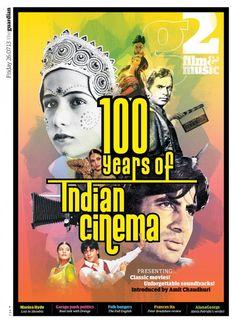 Guardian, g2 Film Bollywood (100 years of Indian Cinema). Newspaper, editorial design.