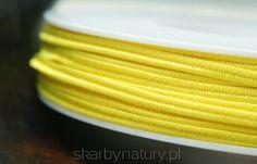 Sznurek Sutasz PEGA - słoneczny żółty [1 metr] - Skarby Natury - rozwiń swoją pasję