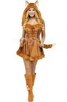 Renard animaux déguisement pas cher animaux adorable halloween cosplay