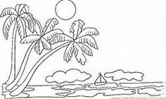 Palm Tree Coloring Pages - Bing Images