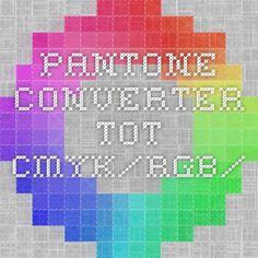 Pantone converter tot CMYK/RGB/...