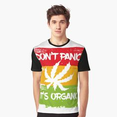 Don't Panic, Vivid Colors, Female Models, Funny Tshirts, How To Make, How To Wear, Printed, Awesome, Fitness