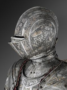 Philadelphia Museum of Art - Collections Object : Armor for Use in the Tourney Fought on Foot over the Barriers Medieval Knight, Medieval Armor, Fantasy Warrior, Fantasy Art, Neck Bones, Armor Clothing, Knight Armor, Philadelphia Museum Of Art, Arm Armor