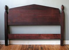 Rosewood Country Cottage Full Size Bed Headboard  by ScrantonAttic, $199.99