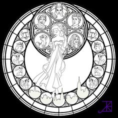Enchanted Coloring Page