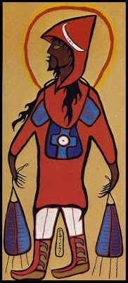 Norval Morrisseau, Portrait of the Artist as Jesus Christ (p. 29, 178)