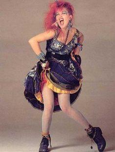 cyndi lauper | Fantasia Anos 80 (Fotos, Como Fazer, Dicas, Modelos)