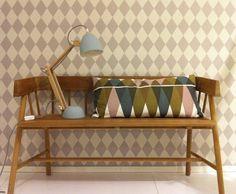Helmut desklamp M. Decoration, Magazine Rack, Love Seat, Blog, Sweet Home, Lights, Cabinet, Storage, Pattern