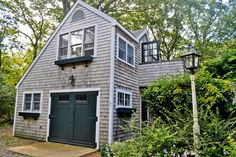 Small houses can still contain everything you need (including a #garage!) and are a great way to live within your means in a bad economy.
