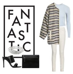 """¶ H&M Jacket"" by andrea-moen ❤ liked on Polyvore"