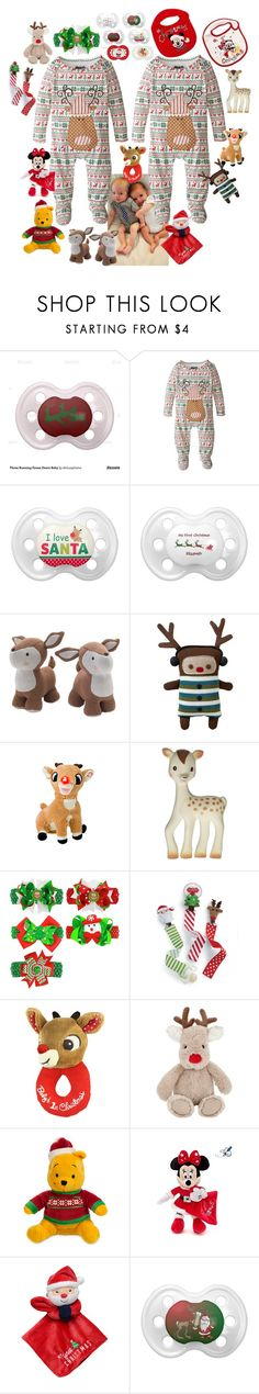 """twin santas"" by sterlingkitten on Polyvore featuring Lolli Living, Old Navy, INC International Concepts, Vulli, John Lewis and Carter's"