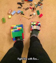 Lego Shoes - GENIUS