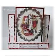 Image result for docrafts anita's christmas foiled decoupage cards