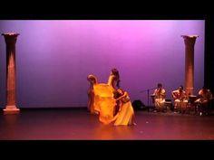 """Cristina Samaniego en """"Diosas, estados del alma"""" con musica en directo - YouTube"""