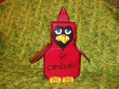 Cardinals are fascinating birds to watch. by CaroleCustomCreation