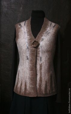 Tatilubav @ Ярмарка Мастеров - Felted vest