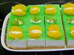 Maischnitten mit Waldmeister (Rezept mit Bild) von Ayla2901 | Chefkoch.de