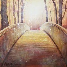 Angela Anderson is creating Acrylic Painting Video Tutorials Acrylic Painting Lessons, Painting Videos, Acrylic Art, Easy Art Lessons, Bridge Painting, Pitt Artist Pens, Create Canvas, Acrylic Painting Tutorials, A Level Art