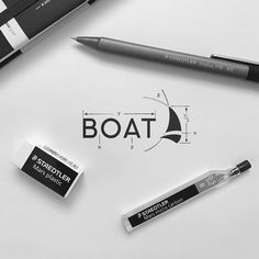 logodailyBOAT    Follow @logodaily⠀    Logo Design By @lecart