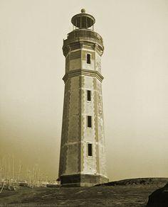 Capelinhos Lighthouse, 1957-1958 - Capelinhos, Acores