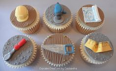 Home Builder Cupcakes (Father's Day?)