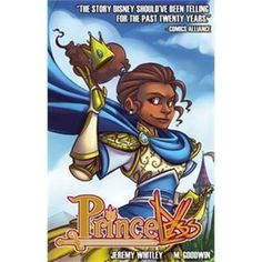 """Princeless. 1 / Jeremy WHITLEY - """"Funny riffs on adventure story stereotypes fill this graphic novel, and parents and educators will be delighted with the diverse characters."""" - AMightyGirl.com Honored as an Amelia Bloomer Project title, through the ALA. Adrienne Ashe never wanted to be a princess. She hates fancy dinners, is uncomfortable in lavish dresses, and has never wanted to wait on someone else to save her."""