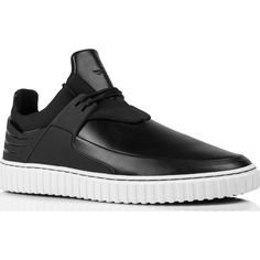 Creative Recreation Castucci Low-Top Sneakers   Black White